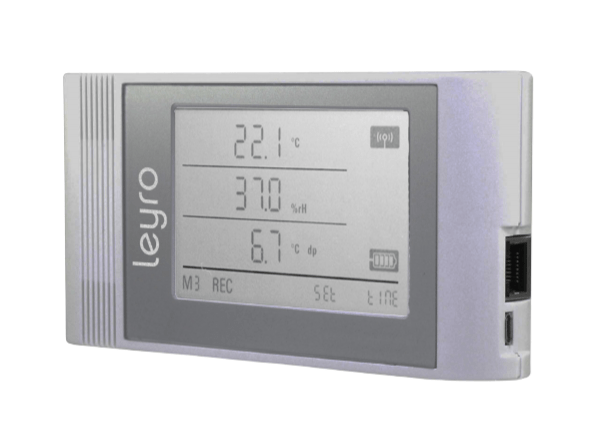 TCO Data Logger temperature, humidity and CO2